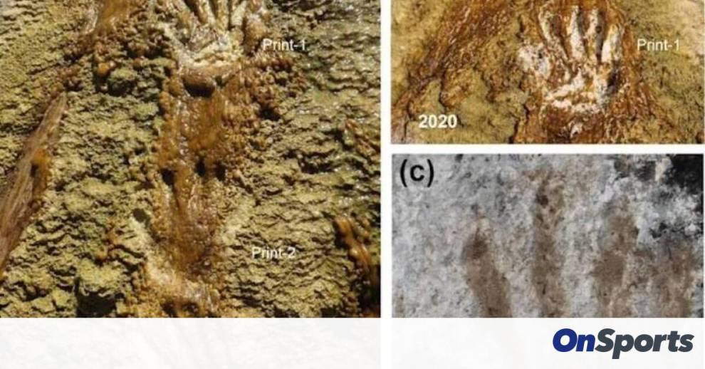 Παιδική τέχνη 226.000 ετών; Ανακαλύφθηκαν στο Θιβέτ «γκράφιτι» από πατημασιές και παλάμες