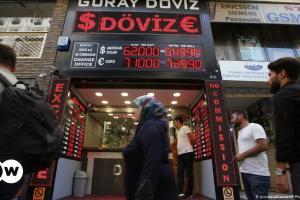 Ρεκόρ διολίσθησης για την τουρκική λίρα | DW | 15.10.2021