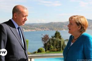 Τα ελληνοτουρκικά στη συνάντηση Μέρκελ-Ερντογάν | DW | 16.10.2021