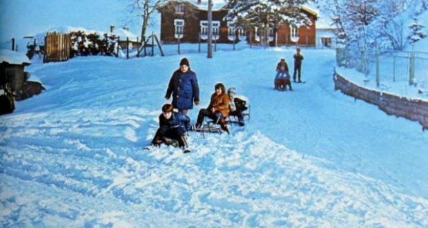 Ето така я помня аз – зимата на моето детство