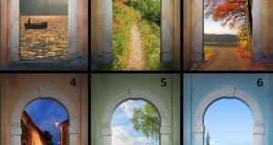 Казват че портата която изберете ще предскаже вашето бъдеще