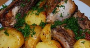 Пилешко с картофки и още нещо - нереална вкусотия