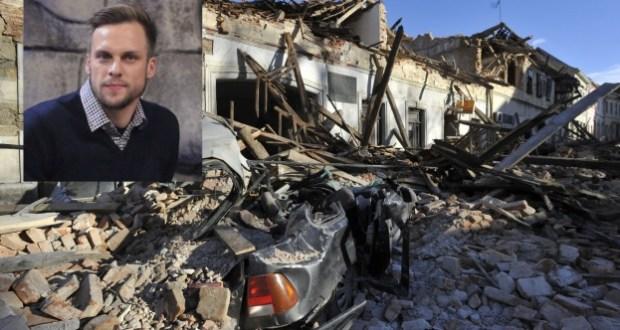 Ваня Джаферович за земетресението в Хърватска: Опитахме се да излезем
