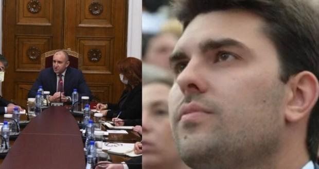 Лидерът на младежите на ГЕРБ Георг Георгиев: Радев да знае че няма да остане без последици