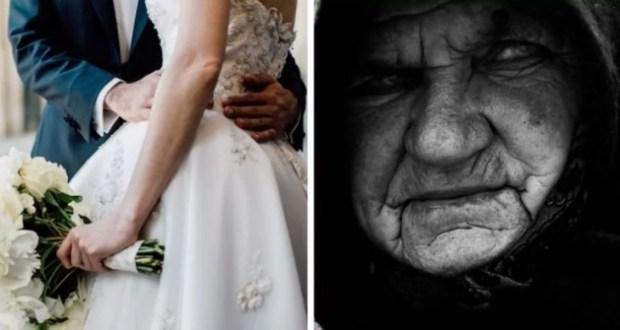 На сватбата дойде непозната възрастна жена. Никой не й обърна внимание