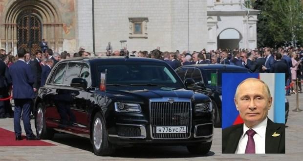 Смотрите какая машина: Пуснаха в продажба лимузина като тази на Путин