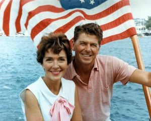 Nancy og Ronald Reagan, 1964. Foto: The Reagan Library, US National Archives.