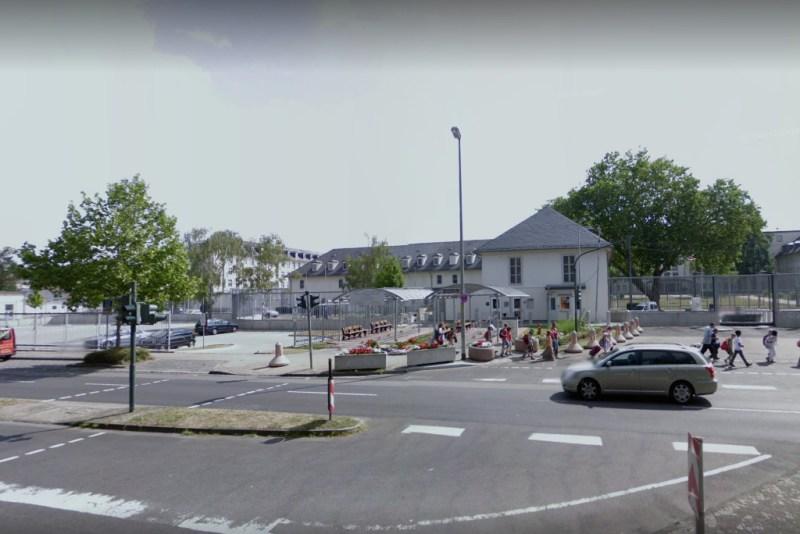 Det amerikanske konsulat i Frankfurt, som ifølge WikiLeaks benyttes som hemmelig hackerbase af CIA. Foto: Google Streetview.