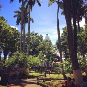 Alajuela central plaza