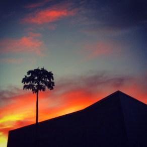 Sunset in Alajuela