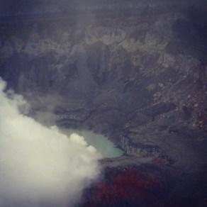 Volcan Poas in the mist
