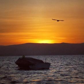 Sunset at Paracas