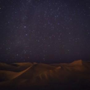 Star gazing in Huacachina