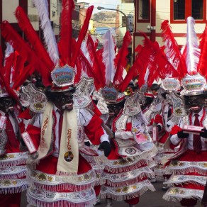 Our Lady of Mercy festival in Puno