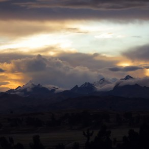 Sunset in the Sacred Valley