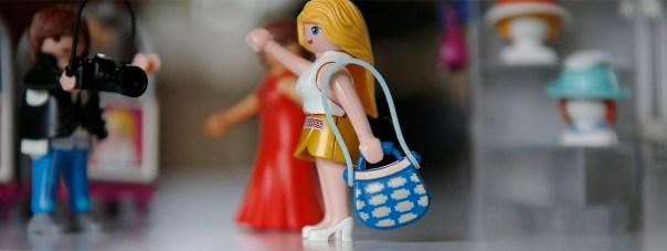 playmobil modevisning