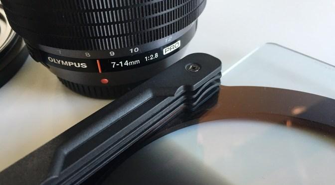 Bestellt: Filterhalter für das Olympus 2,8/7-14mm