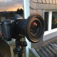 Und jetzt der Nisi Filteradapter für das Olympus 2,8/12-40 ...