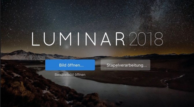 Video: Luminar 2018, Retusche
