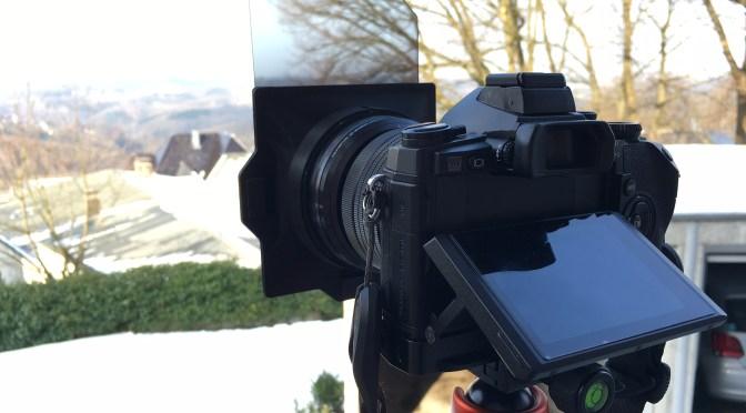 Test: Filterhalter von Logodeckel für das Olympus 2,8/7-14mm