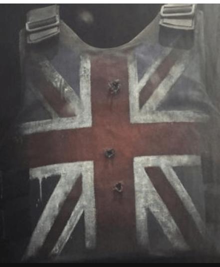 Banksy stab vest