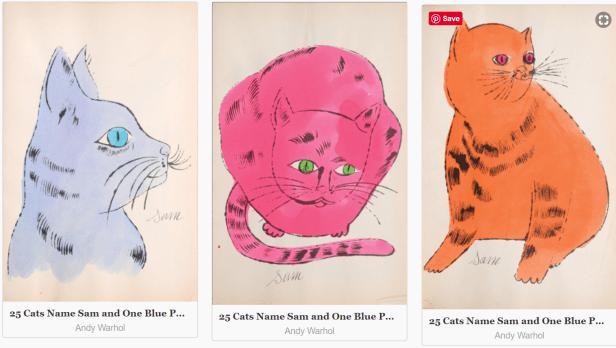 Warhol cats