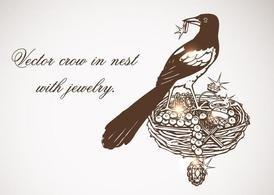 Resultado de imagen de nido con joyas