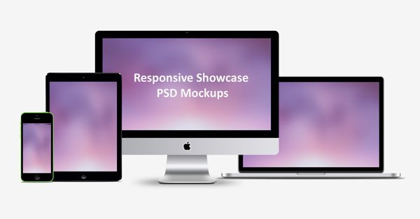 Free Responsive Showcase Psd Mockups Psd Files Vectors Graphics