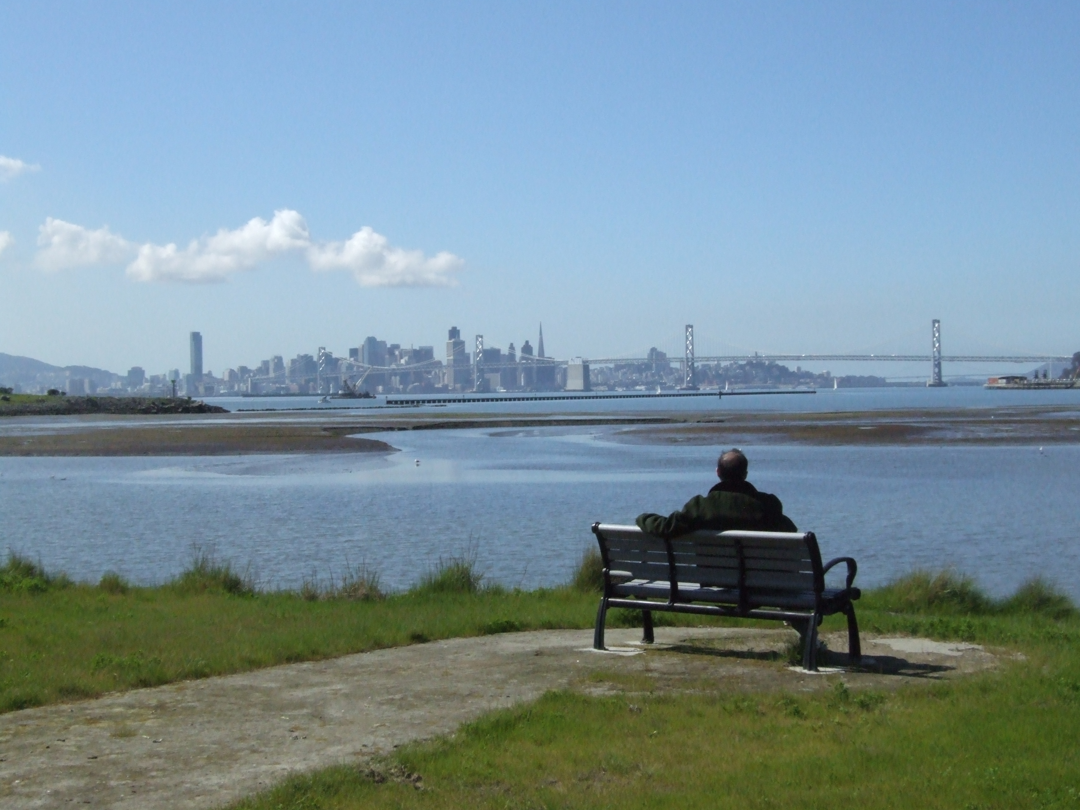 Peaceful: San Francisco from the Port of Oakland