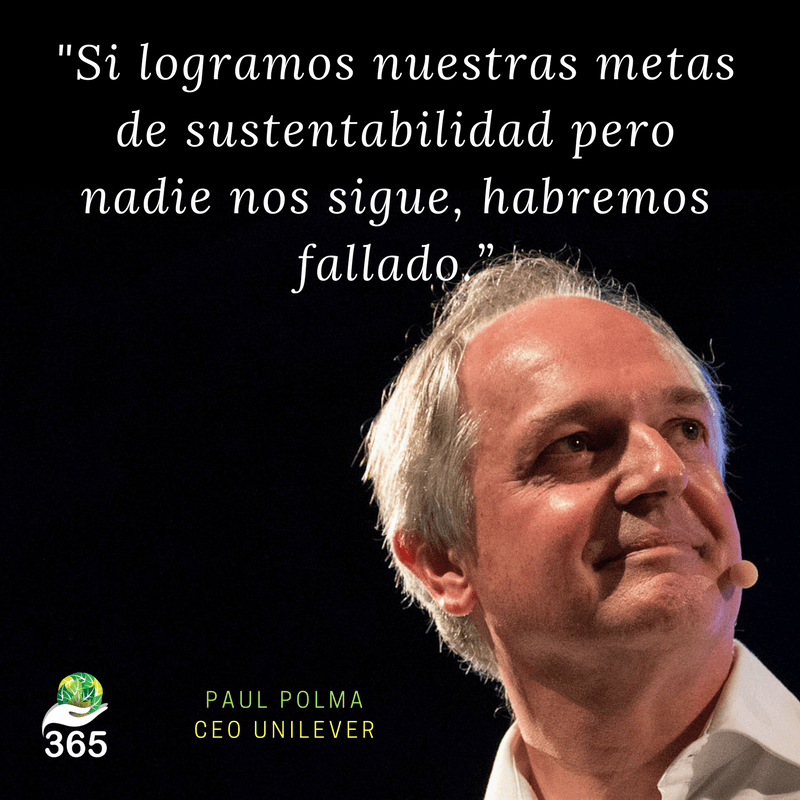Paul Polman, CEO Unilever.