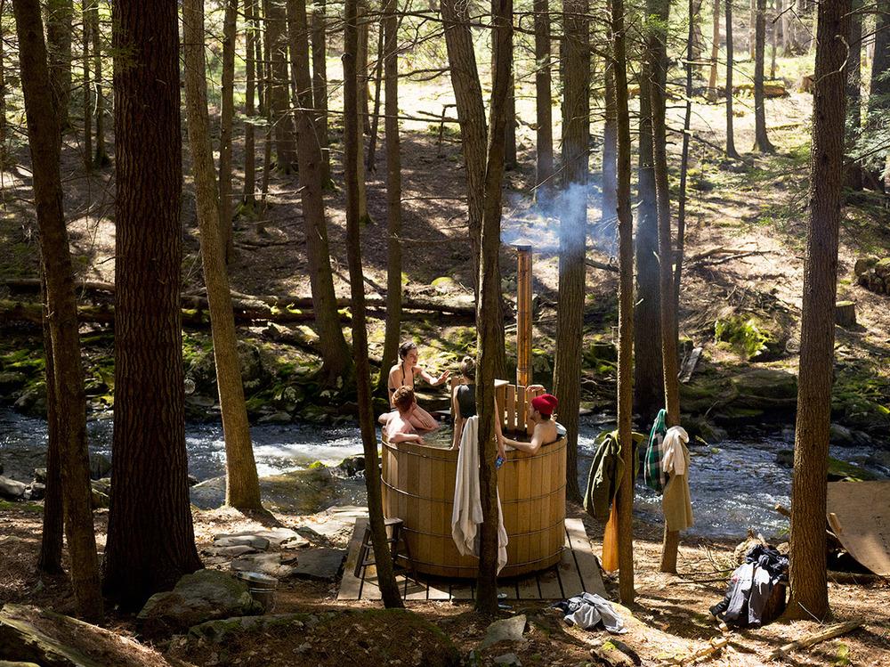 Una comunidad en mitad de un bosque: Beaver Brook.