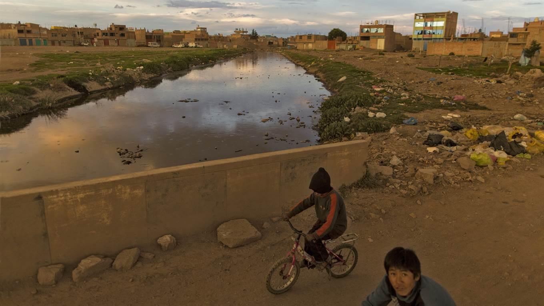 Lago Titicaca Contaminado, Rio Torococha