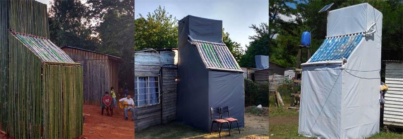 Baño Seco, Calefon Solar