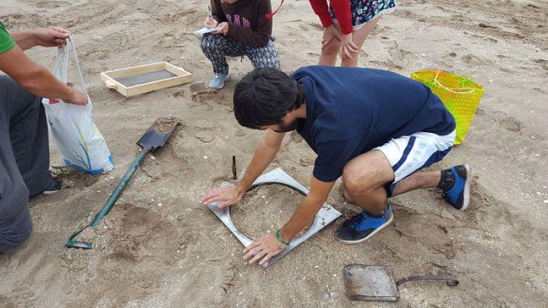 Recolección de plástico en Playas de Buenos Aires