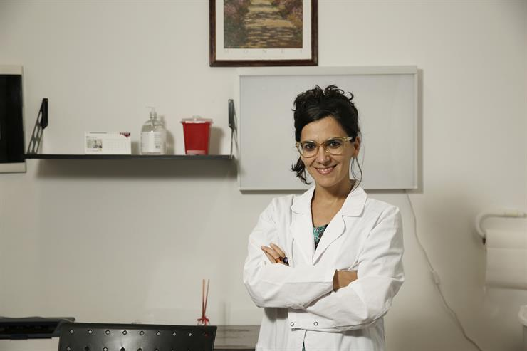 La psiquiatra Celeste Romero es una de las egresadas del primer posgrado sobre cannabis medicinal que se hizo en la UNLP el año pasado