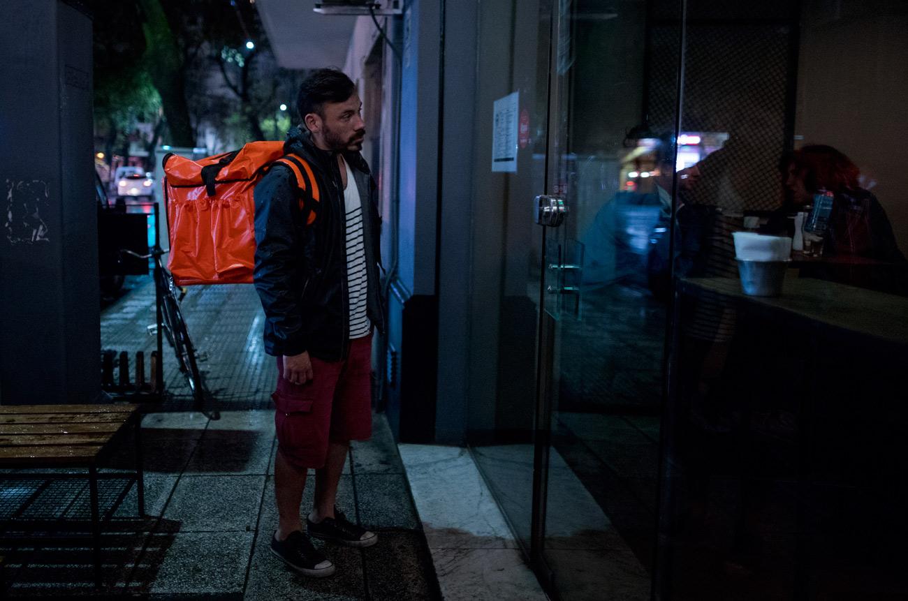 Rappi en Argentina, Monotributistas a pedal