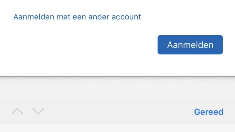 wachtwoord iOS