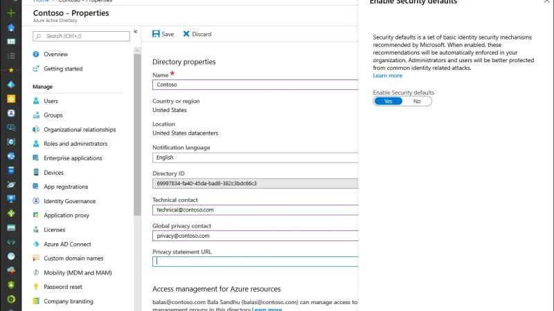 In één klik je organisatie veiliger maken dankzij Azure AD Security Defaults