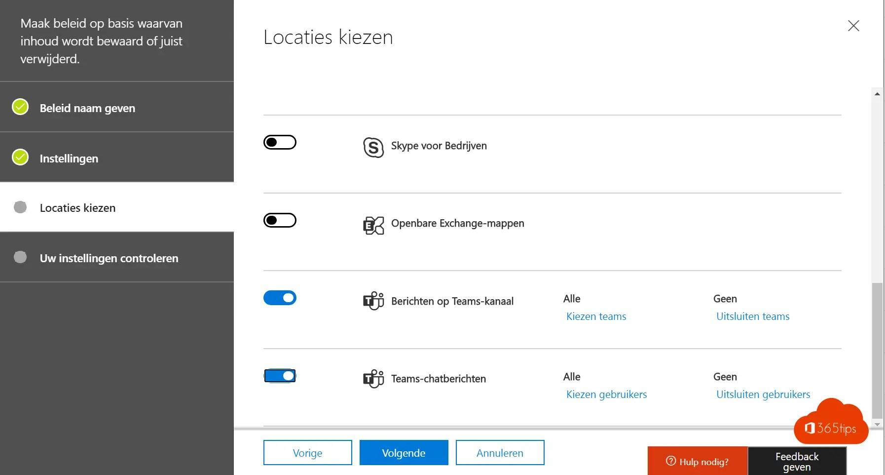 Is Microsoft 365 back-up nodig?