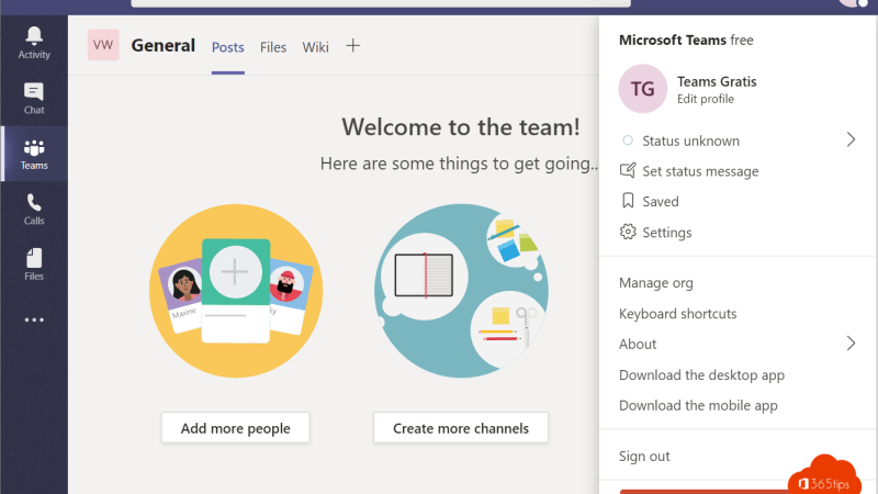 Upgrade Microsoft Teams