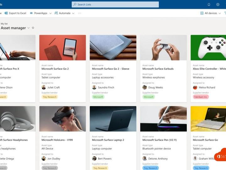 Microsoft Lists – Intelligente lijsten gebouwd op SharePoint