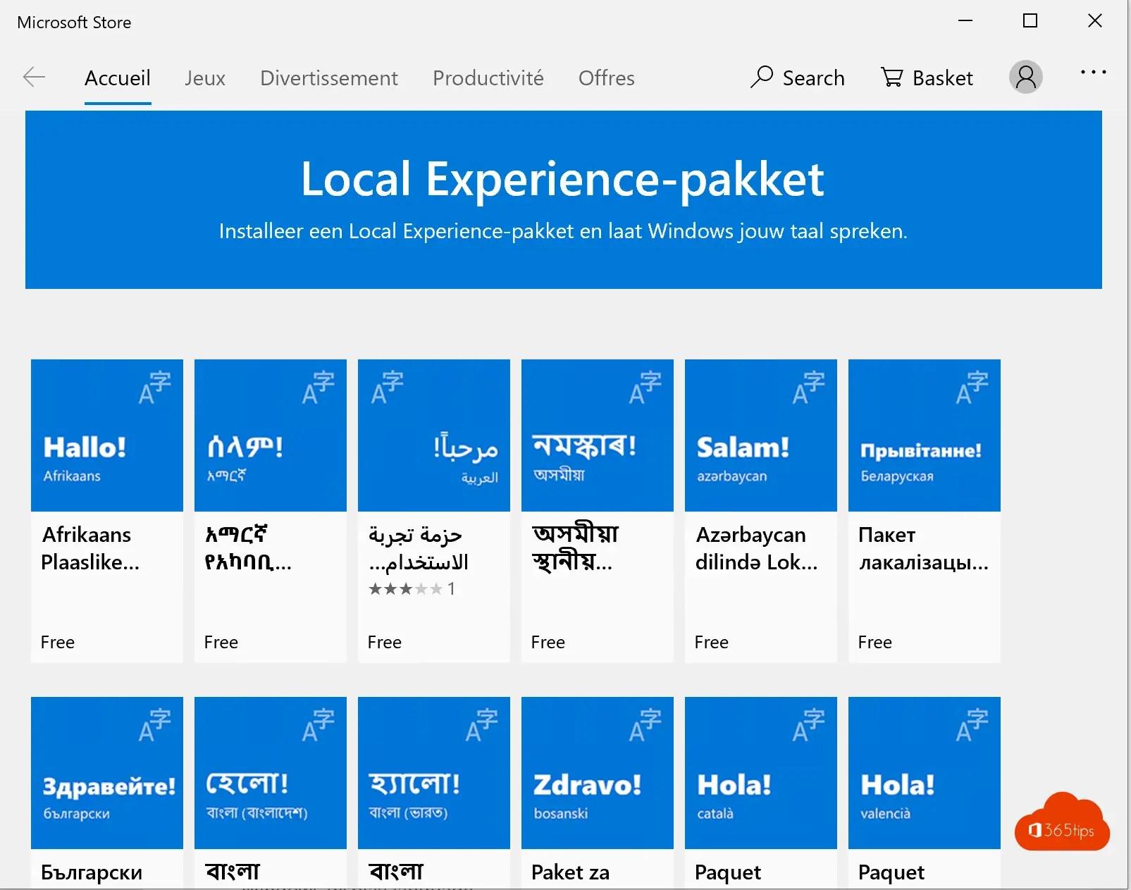 Windows 10 in het Nederlands instellen