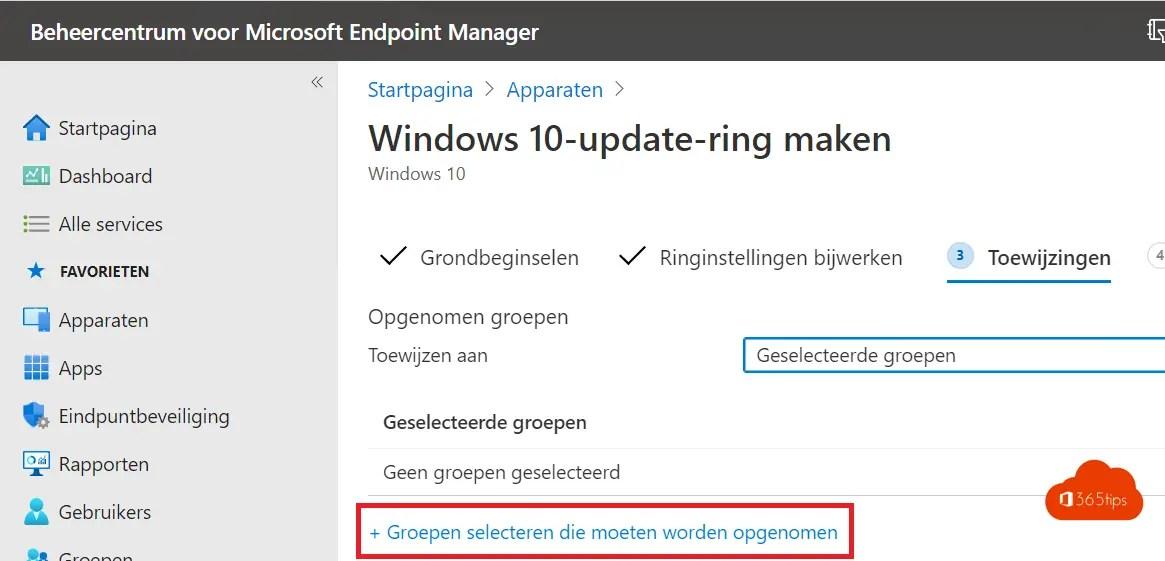 Windows insider ring testen met Microsoft Endpoint manager – Intune