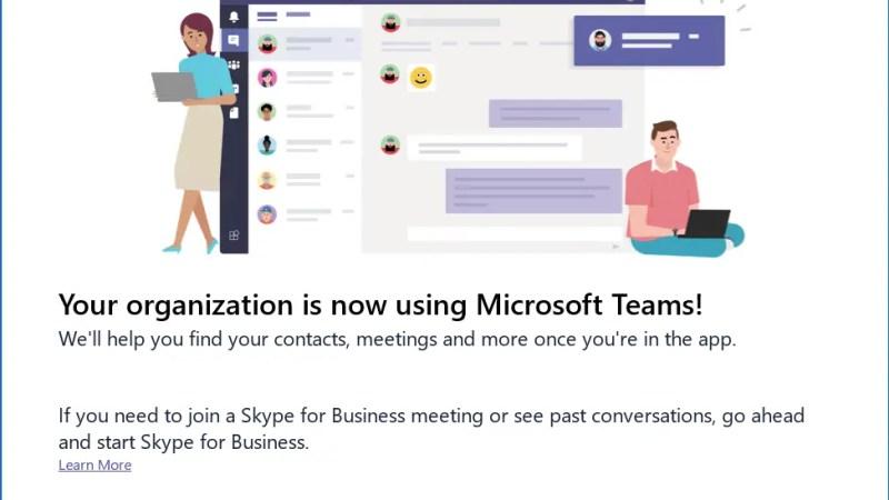 upgrade skype teams