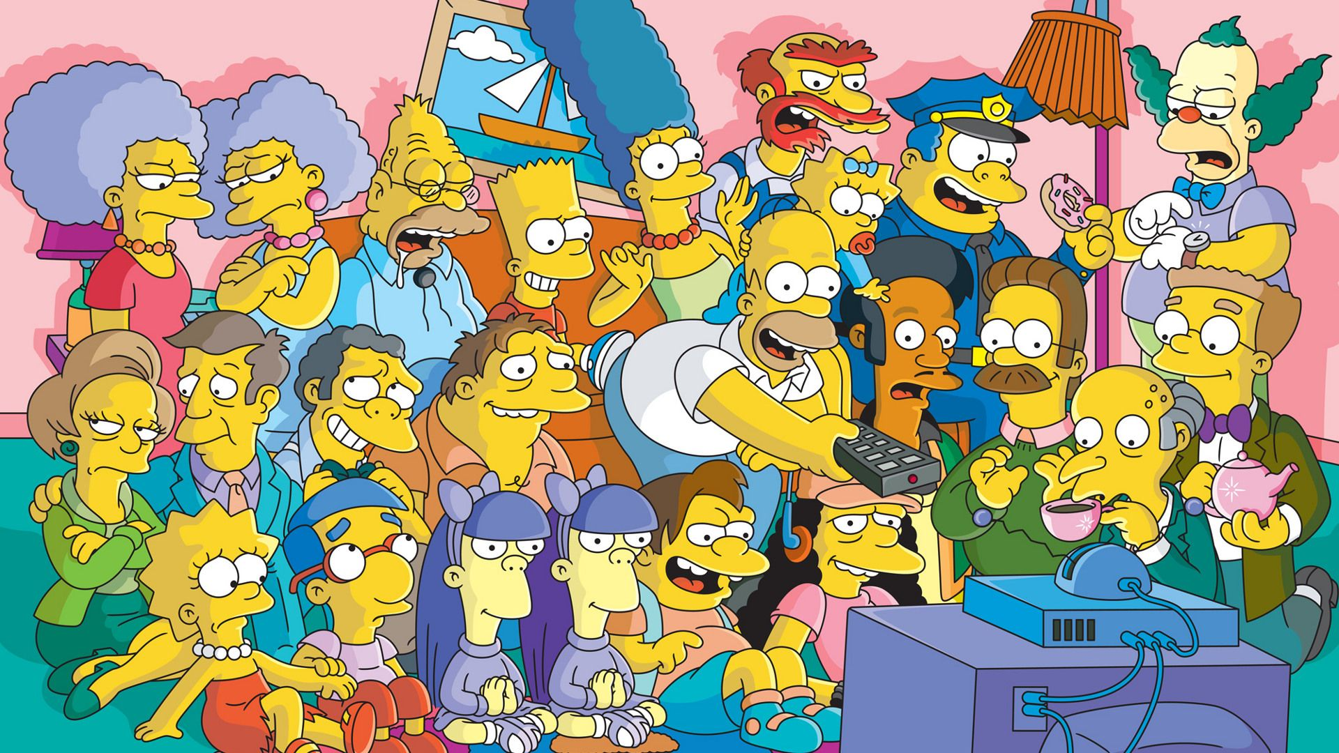 The Simpsons Background Theme