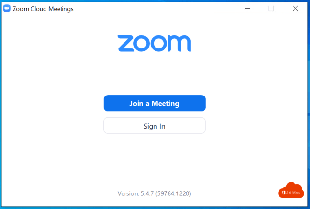 Zoom Join a meeting