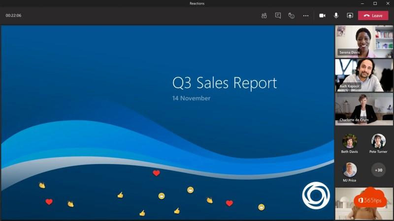 Zo gebruik je Microsoft Teams live reacties! 🙌🙌