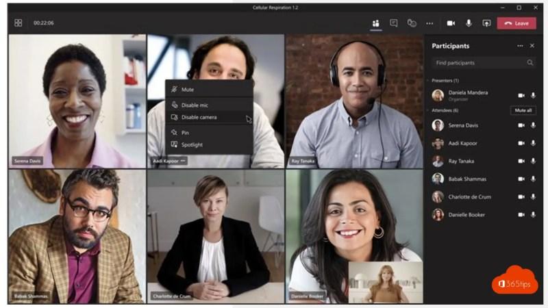 Nieuw! Video uitschakelen in Microsoft Teams!