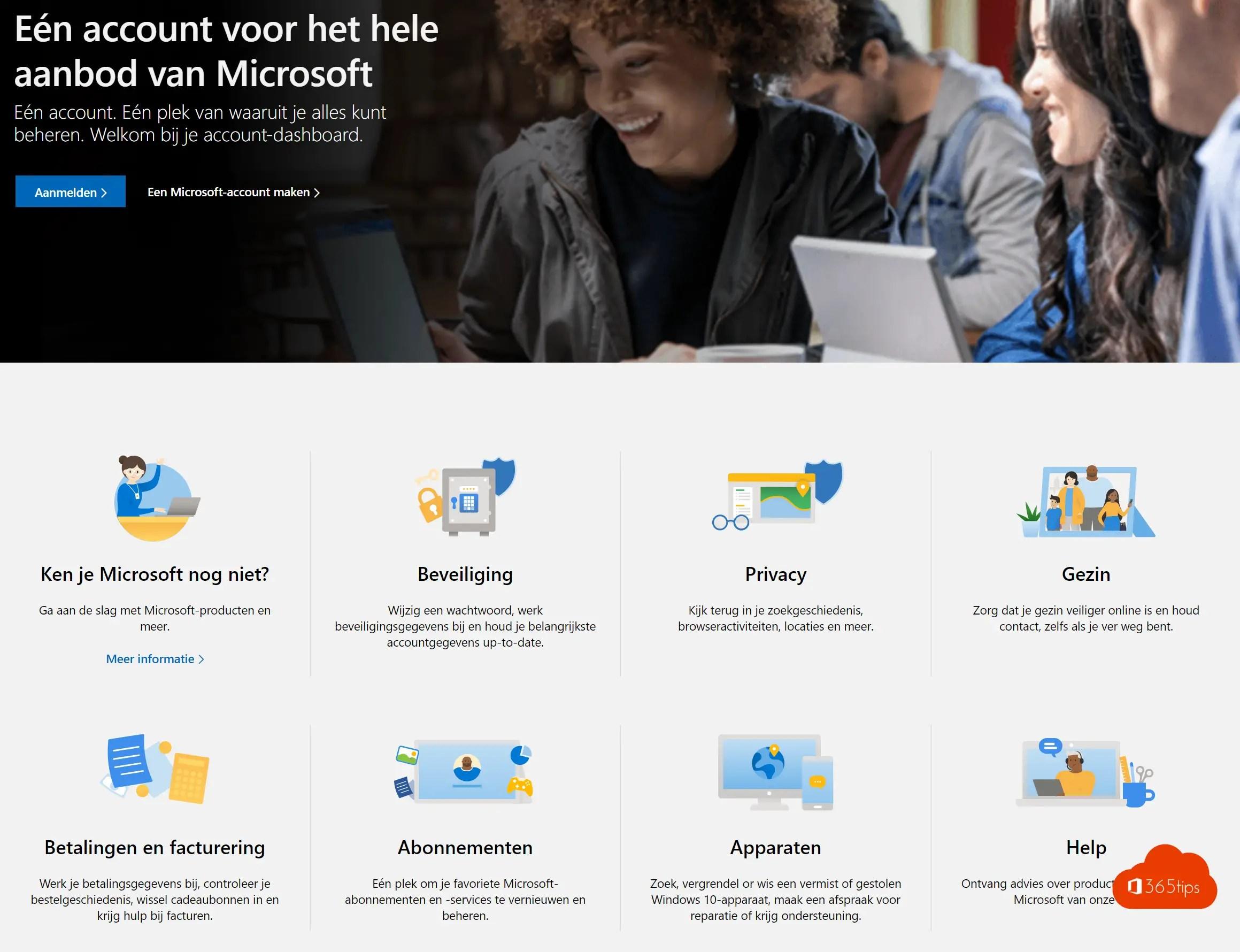 Een gratis Microsoft-account aanmaken | Live-ID voor consumenten