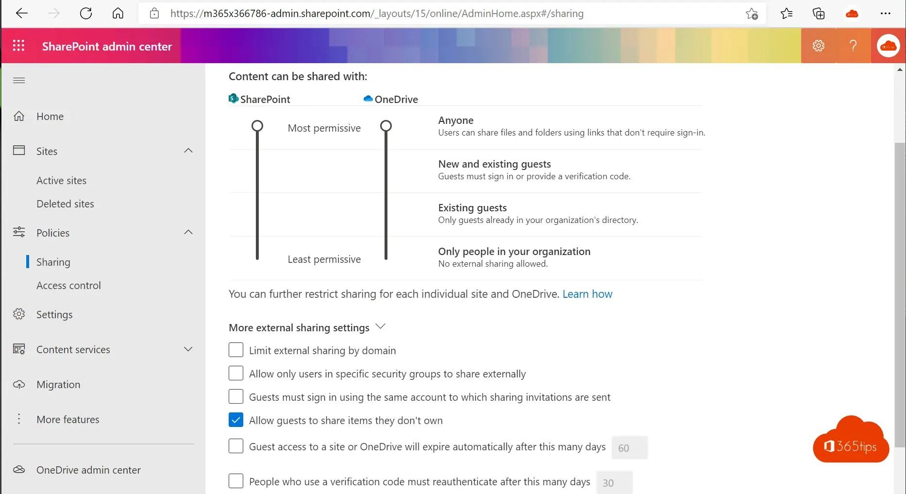 Tenant naam of SharePoint URL updaten?